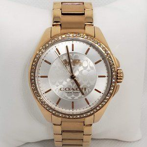 Coach Maddy Gold two tone Watch
